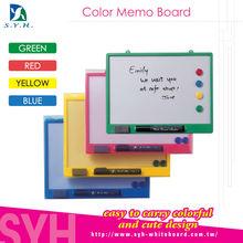 Colored memo board