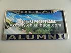 chrome plastic custom license plate frames
