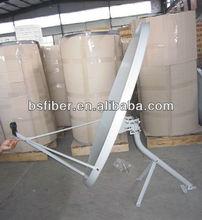 90cm ku band satellite dish antenna/offset antenna dish/TV receiver