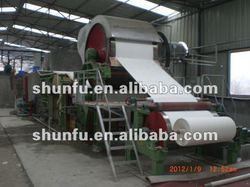 1760mm high speed toilet tissue paper machine