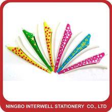 hair clip pen,hairclip pen,funky pen