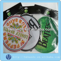 round mouse pad and rubber backing mouse pad