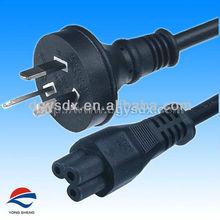 3 pins Australian power plug and C5 plug