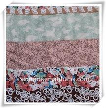 Stripe Rayon Printed Fabric