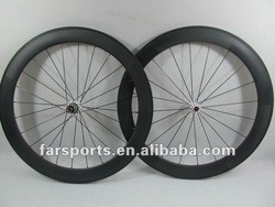 Super Light 50mm tubular carbon bicycle wheel,1203g