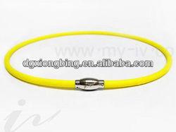 adjustable silicone neck strap