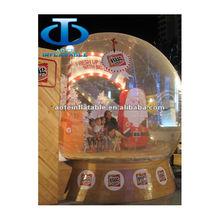 2012 inflatable snow ball for Christmas