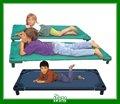 Fiel grupo de camas de beliche para as meninas