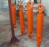 Skid loader rod end hydraulic cylinders