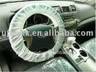 Plastic White Spare wheel Cover/Car Steering Wheel Cover
