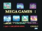 VIDEO GAME BOARD Mega Games 7 in 1