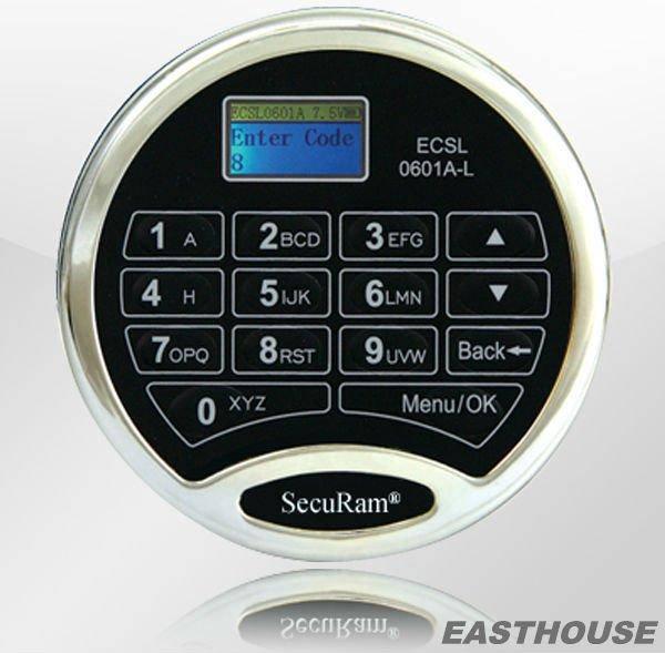cerradura electrónica de combinación para el seguro