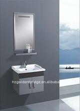 wall-hung mirror with shelf bath vanity group QA-022
