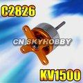 C2826/12 1500kv motor brushless/motor para rc modelo de avião