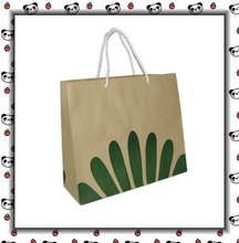 kraft paper shopping packing bag