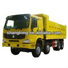 Chinese manufacturer man diesel tipper truck