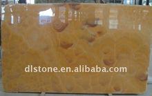 Orange Sun Flower Jade Stone Slab and Tile