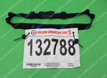 Tri Belt~Custom Race Number Belt with Gel holders, Triathlon Race Number Belt, Marathon Race Belt
