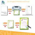 DIY magnet whiteboard sheet