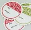 non adhesive sticker/low adhesive sticker