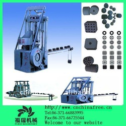 Various shapes coal dust briquette making machine