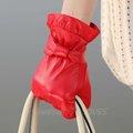 L114nc, de color rojo, warmen, estilo de la moda, 2013 damas guantes de cabritilla