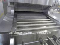 Arabic pita bread gas bakery tunnel oven