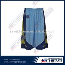 Hot sell fashion sublimation printing basketball shorts