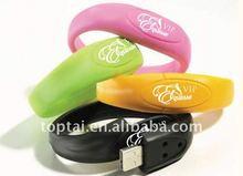 2gb Bracelet /Wristband best usb 2.0 usb memory stick
