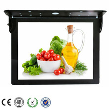 15 Inch Digital LCD Media Display For Bus Advertising