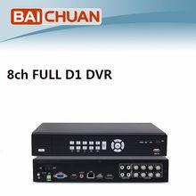 Latest 8ch Full D1 CCTV HDMI DVR Recorder