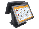 Dual Screen Touch POS Terminal ZQ-T9090D from Zonerich