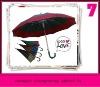 high quality aluminum japanese umbrella, japanese rain rubber umbrella sale