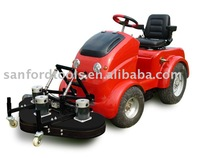 Electric ride on lawn mower