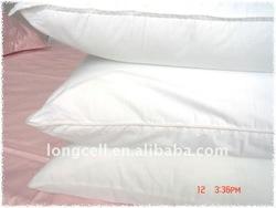 wholesale white color 100% cotton hotel pillow case