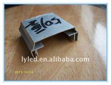 50mm aluminium impact extrusion for LED light box