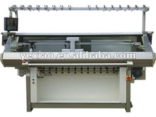 fully automatic computerized flat knitting machine/double system