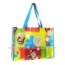 Cartoon laminated non woven gift bag