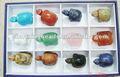 Semi ch-zmm0008 percious joyería talla, tortuga de piedra talla, de los animales de talla de piedra