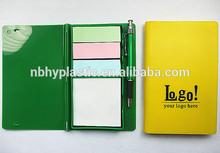 HY0416 Promotional Sticky note pad pen set