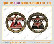 2012 custom silver medallion