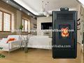 Barato moderno estufa de pellets de biomasa por ultrasonidos PS-30 con CE y EN14785