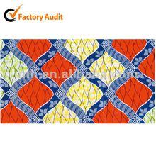 Real Wax Fabric printed fabric