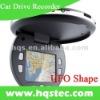 New UFO Shape mini 2ch Car Dvr