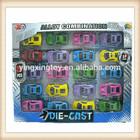 Hot selling 20pcs/box die cast mini metal toy car