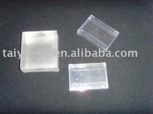 clear plastic PVC 0.3mm folding box