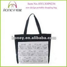 New Designer Trendy Portable Animal Pattern Shopping Bags