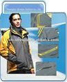 Modelos de la chaqueta de deportes, Poliéster de la chaqueta de deportes