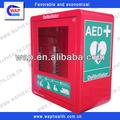 venta caliente de la medicina china aed desfibrilador con gabinete de alarma y el mejor precio