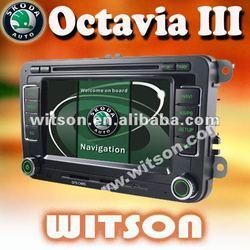 WITSON skoda octavia iii dvd with ISDB-T Tuner (Optional)